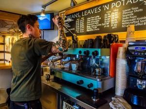 Base Camp Coffee Espresso Barista